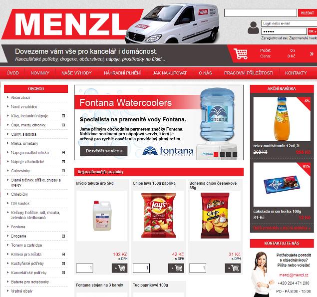 MENZL E-SHOP