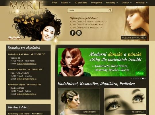Salóny krásy HAIR STUDIO MARIE